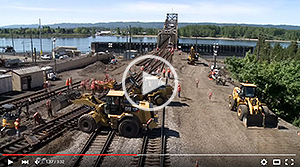 BNSF installs movable-point diamond in Vancouver, Wash.